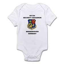 6913TH SECURITY SQUADRON Infant Bodysuit