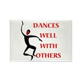 DANCES WELL Rectangle Magnet (100 pack)