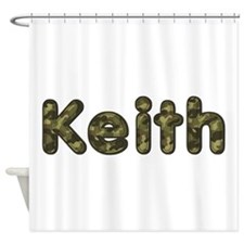 Keith Army Shower Curtain