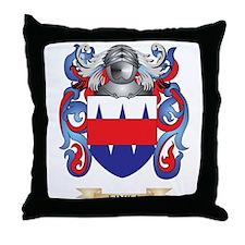 Linka Coat of Arms - Family Crest Throw Pillow