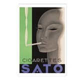 SATO Cigarettes Postcards (Package of 8)