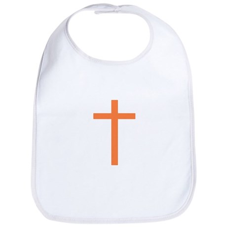 Orange Cross Bib