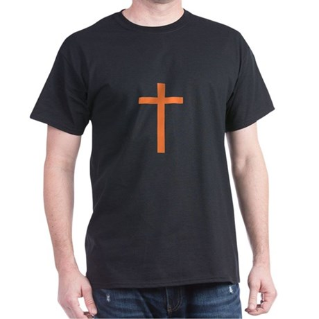 Orange Cross Dark T-Shirt