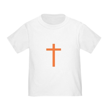 Orange Cross Toddler T-Shirt