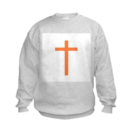 Orange Cross Kids Sweatshirt