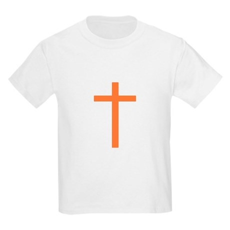 Orange Cross Kids T-Shirt