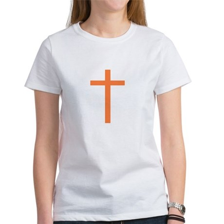 Orange Cross Women's T-Shirt
