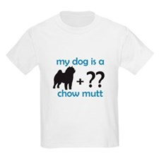 Chow Mutt Kids T-Shirt