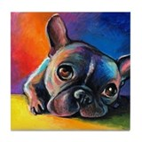 French bulldog Drink Coasters