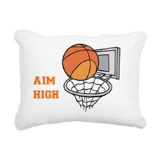Aim High Rectangular Canvas Pillow
