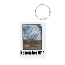 Remember 9/11 2 Keychains