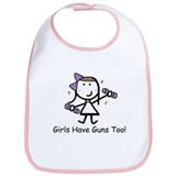 Exercise - Girls Guns Bib