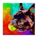 French Bulldog 6 Tile Coaster