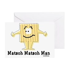 MAtzoh Matzoh Man Greeting Card