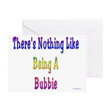 Nothing Like Bubbie Greeting Card