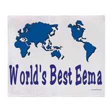Worlds Best Eema Throw Blanket