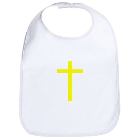 Yellow Cross Bib