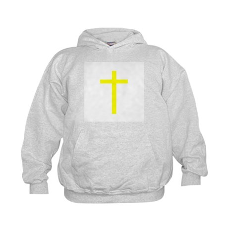 Yellow Cross Kids Hoodie