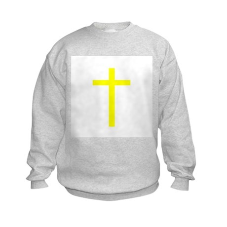 Yellow Cross Kids Sweatshirt