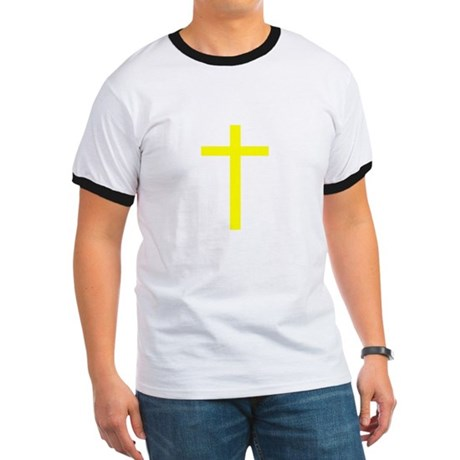Yellow Cross Ringer T