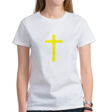 Yellow Cross Women's T-Shirt
