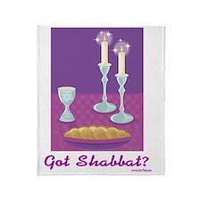 Got Shabbat Throw Blanket