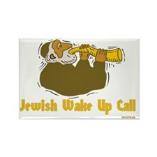 jewish wake up call 3flat Rectangle Magnet