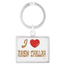 Raisin Challah Landscape Keychain