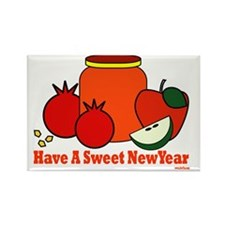 Have a sweet new year Rectangle Magnet