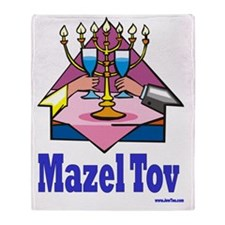 MAzel TOv Throw Blanket