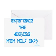 Awesome High Holy Days Greeting Card
