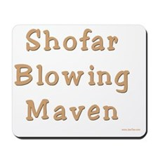 shofar blowing maven Mousepad