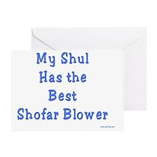 Best Shofar Blowing Shul Greeting Card
