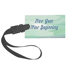 New Year New Beginning Luggage Tag