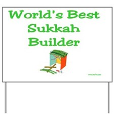 wb sukkah builder Yard Sign