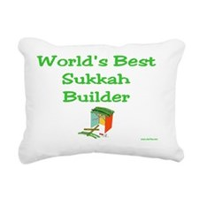 wb sukkah builder Rectangular Canvas Pillow
