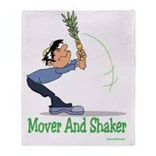 Mover and Shaker Throw Blanket