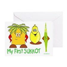 MY FIRST SUkkot Greeting Card