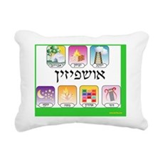 askpezim sukkah psoter Rectangular Canvas Pillow