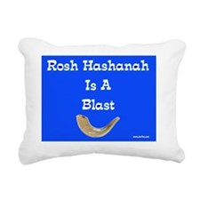 Rosh Hashanah is a blast Rectangular Canvas Pillow