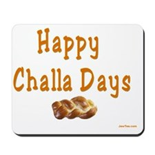 Happy Challa Days flat Mousepad