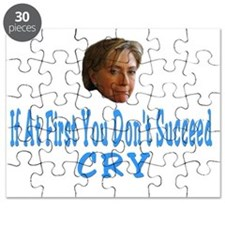 Hillary Crying Puzzle