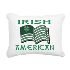 IRISH AMERICAN FLAT Rectangular Canvas Pillow