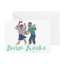 Purim Rocks Greeting Card