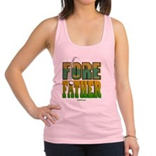 2-FOre Father flat Racerback Tank Top