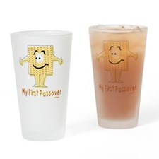 2-My First Passover Flat Drinking Glass