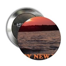 "Happy New Year Sunset 2.25"" Button"