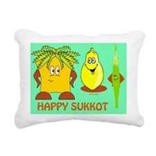 Happy Succos 2 Rectangular Canvas Pillow
