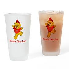 Winnie tHe Jew flat Drinking Glass