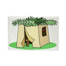 Sukkah Flat Rectangle Magnet